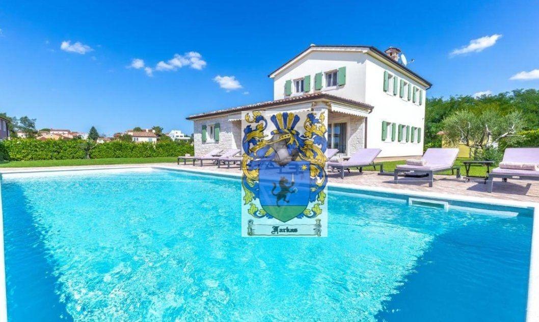 New villas for sale Istria, Real estate agency Farkaš, new villa with pool near Poreč,