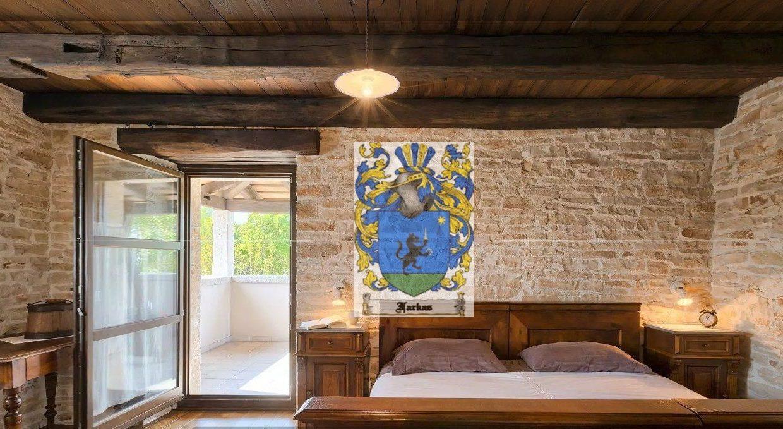 Stone villas for sale Istria, Farkaš, stone villa near Rovinj, 14